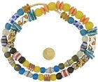 African+trade+beads+powder+glass+Krobo+Fancy+handmade+ethnic+tribal+jewelry+