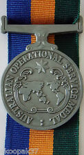 AUSTRALIAN OPERATIONAL SERVICE MEDAL CHOICE OF 15CM  RIBBON TO GO WITH MEDAL