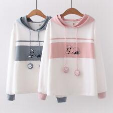 Kawaii Clothing Harajuku Cotton Cat Hoodies Sweatshirt Pullover Jumper Coat