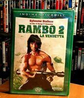 Rambo 2 - La Vendetta (1985) Sylvester Stallone DVD NUOVO E SIGILLATO CULT