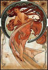 Art Deco Poster Alphonse Maria Mucha Dance Print