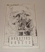 1992 BEAUTIES AND THEIR BEASTS - SIGNED & NUMBERED FRED RAWLES PORTFOLIO #2 /50