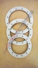 """Hiper Replacement 12"""" Wheel Beadlock Ring Sidewinder White"""