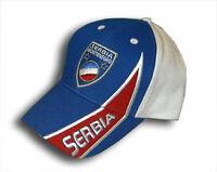 Serbien Kappe Cap Cape Universalgröße  Fan Kurve +neu+ WM EM