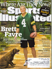 Sports Illustrated Brett Favre Green Bay Packers Kareem Abdul Jabbar July 2015