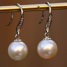 Coming soon fairy Akoya Pearl pearl Natural Diamond 18K Gold Earring KG123