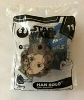 2019 McDonalds Happy Meal Toys STAR WARS Rise of Skywalker #11 HAN SOLO UNOPENED