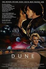 Póster enmarcado Película Retro – Duna (impresión de réplica Película Ciencia Ficción Syfy de Cine Arte)