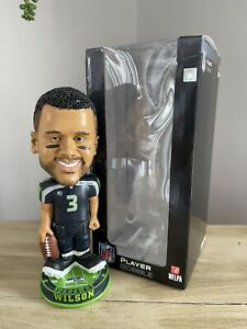 """RUSSELL WILSON Seattle Seahawks EXCLUSIVE """"Kuncklehead"""" Bobblehead ONLY 72 MADE!"""