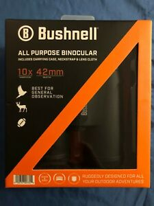 Brand NEW & SEALED!!! Bushnell 10x42 Roof Prism All-Purpose Binocular 210142SC🔥