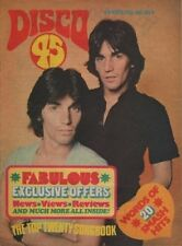 Alessi on Disco 45 Magazine Cover 1977    The Ramones    Carole Bayer Sager