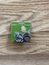 New listing Queen News Of The World Enamel Pin