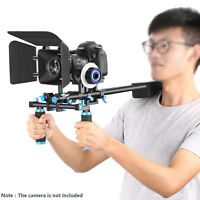 Neewer Movie Video Making System Kit Shoulder Rig Follow Focus for Canon Nikon