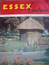 Essex Countryside Vol 19 No 175 Aug 1971 Turpins Cave Epping Mountnessing Mill