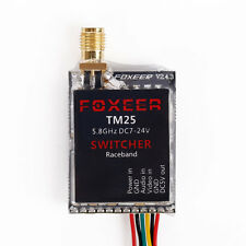 Foxeer 5.8G 40CH TM25 SWITCHER 25/200/600mW Adjustable Power VTX with Race Game