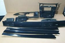 BMW 5 Series E60 E61 LCI Decorative Strip Dash Interior Trim Set Diamantschwarz