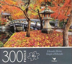 NEW Cardinal 300 Piece Jigsaw Puzzle ~ Eikando Shrine