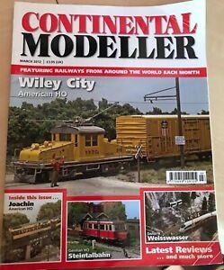 Continental Modeller Magazine - March 2012 Volume 34
