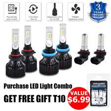 For Subaru WRX 2013-2014 6x Combo 9005 H11 LED Headlight & 9006 Fog Light Bulbs