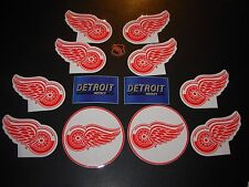 DETROIT RED WINGS hockey nhl 13 STICKER PACK Lot beer tap busch budweiser