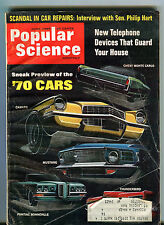 Popular Science Magazine June 1969 '70 Cars Camaro Mustang VG 072516jhe