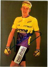 (C2/1003) Cartoncino Ciclismo Koen De Koker Autografo Originale - Gymna