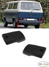 VW Multivan T5 03-09 Pare-Chocs Avant Centre Calandre Avec Moulure Bordure Paire NO INSIGNE
