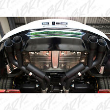MBRP 2016-2019 CHEVROLET CAMARO SS MANUAL QUAD TIP AXLEBACK EXHAUST SYSTEM BLACK