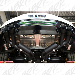 MBRP 2016-2020 CHEVROLET CAMARO SS MANUAL QUAD TIP AXLEBACK EXHAUST SYSTEM BLACK