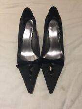 Clarks Black Heels Shoes Size Uk 6