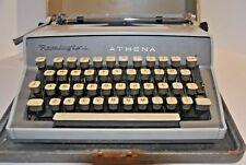 Antique Typewriter REMINGTON ATHENA case key portable manual vintage