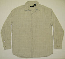 Michael Brandon Long Sleeve Linen Shirt / Men's L / Brand New