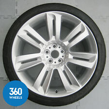 "GENUINE JAGUAR 20"" XKR SUPERCHARGED NEVIS REAR ALLOY WHEEL TYRE 285 30 20"