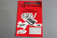 W956 BABY TRAINS Train catalogue Ho radiocommande 16 pages 25*17,5 cm F