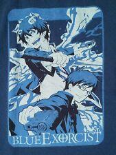 BLUE EXORCIST RIN YUKIO BLUE T-SHIRT SMALL ANIME