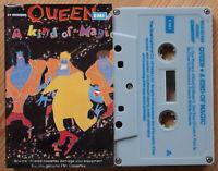 QUEEN - A KIND OF MAGIC (EMI STCSEU3509) 1986 INDIA CASSETTE TAPE VG