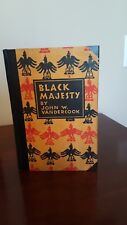 Black Majesty (1928) by John W. Vandercook, Signed, First Edition