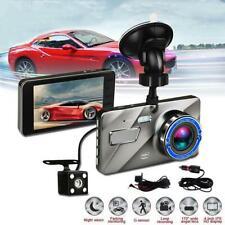 "Dual Lens 4 ""Auto DVR 1080P FHD Dash Cam Video Recorder Nachtsichtkamera"