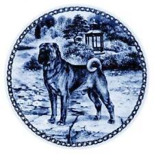 Shar Pei - Dog Plate made in Denmark from the finest European Porcelain