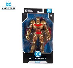 Mc Farlane Batman Hellbat Gold Edition DC Multiverse Action Figure IN HAND!!!