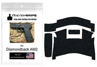 Tractiongrips textured rubber grip tape overlay for Diamondback AM2 pistols