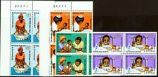 Zambia 1973 25th Anniv of W.H.O set of 4 SG199-202 in V.F MNH Blocks