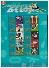 PACK CS7 The Journey Begins London 2012 olympic paralympic games  smilers sheet