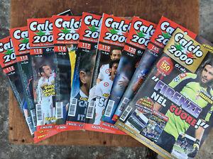 calcio 2000 rivista lotto assortito