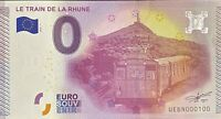 BILLET 0  EURO LE TRAIN DE LA RHUNE   FRANCE  2015  NUMERO 100