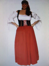 Womens Sexy XL GYPSY FORTUNE TELLER ROMANY Size 14/16 Fancy Dress Outfit