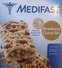 Medifast Optavia Strawberry Crunch Bars 7 Meals New