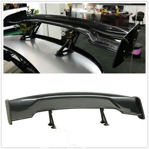 "For 2009 2010 2011-2020 Nissan 370Z 57"" Wide Carbon Fiber Trunk Spoiler Wing 1PC"
