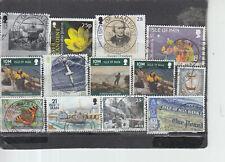 Schönes Lot Briefmarken aus Isla of MAN gestempelt