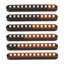 Motorrad LED Blinker 12V Sequentiell Laufeffekt Nummernschild Lampe Universal